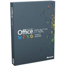 MS Office Home Busines MAC 2011 ENG KUTU W6F-00213