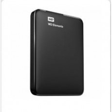 "WD 1 TB 2.5"" USB 3.0 ELEMENTS SİYAH WDBUZG0010BBK"