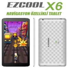 Ezcool X6 Beyaz Tablet PC
