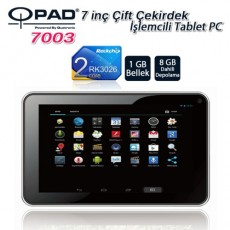 Qpad 7003 RK3168 DualCore SGX540 1GB 8GB HDMI Tablet PC