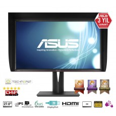 ASUS PA279Q LED 2MS SIYAH DVI HDMI DP Monitör
